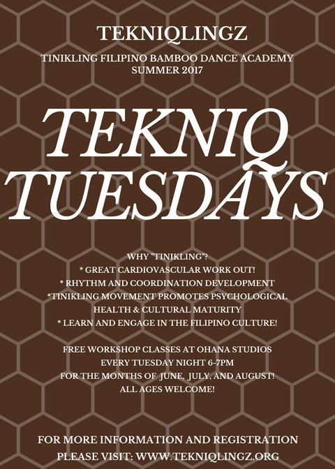 Tekniq Tuesdays Summer 2017