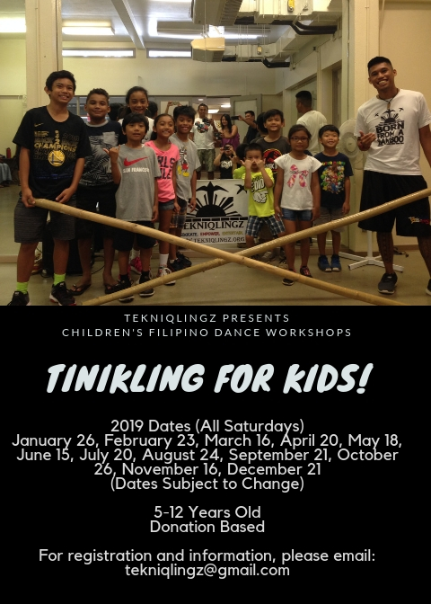 tinikling for kids 2019